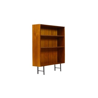 1960s Mid Century Modern IB Kofod Larsen Teak Upright Bookcase For Sale