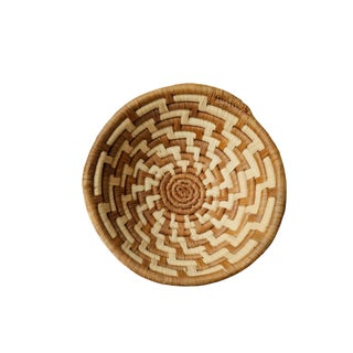 African Basket Bowl For Sale