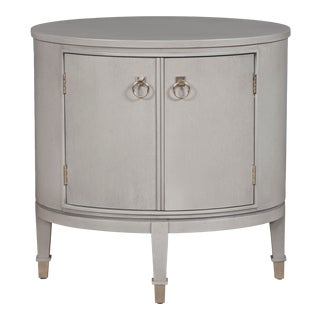 Vanguard Furniture Maclaine Oval End Table For Sale