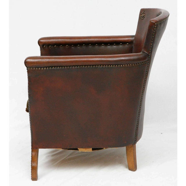 1930s Otto Schulz Lounge Chair For Sale - Image 5 of 8