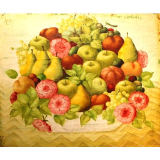 1950s French Philippe Auge Painting For Sale