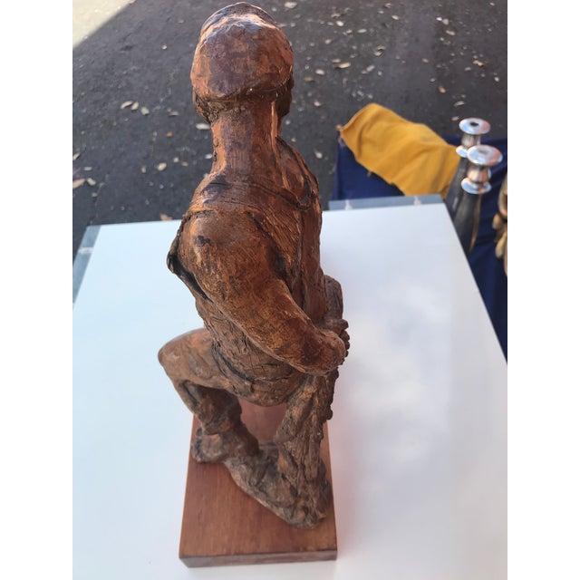 Figurative 1960s Vintage Kimro Mid-Century Modern Figural Sculpture For Sale - Image 3 of 5