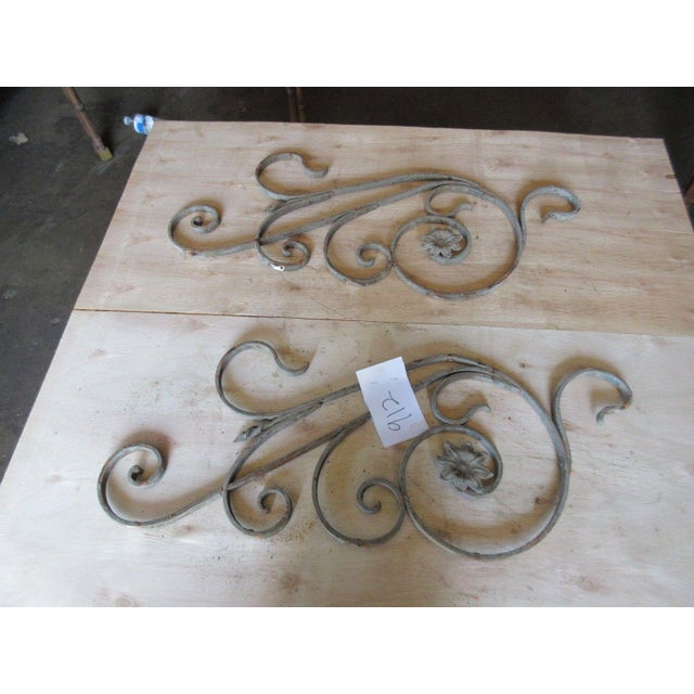 Antique Victorian Iron Gate Architectural Salvage - Image 3 of 6
