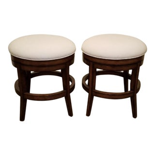 Modern Fremarc Veranda Swivel Counter Stools- A Pair For Sale