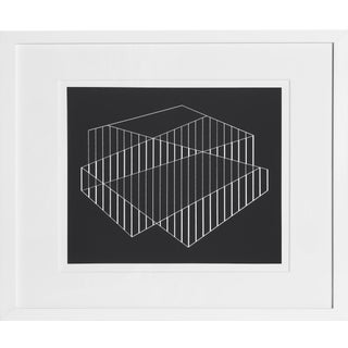 Josef Albers - Portfolio 2, Folder 6, Image 1 Framed Silkscreen For Sale