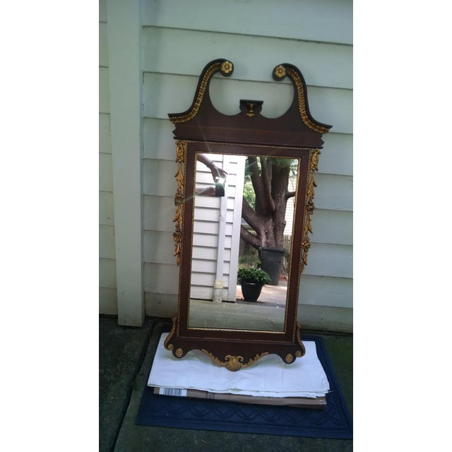 Chippendale Mahogany Mirror - Image 2 of 8