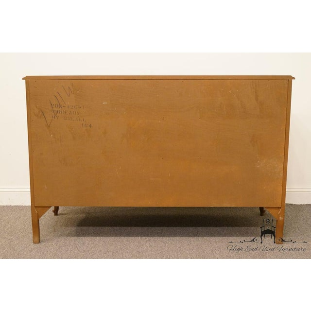 "20th Century Traditional Drexel Bordeaux Collection 54"" Double Dresser For Sale - Image 10 of 13"