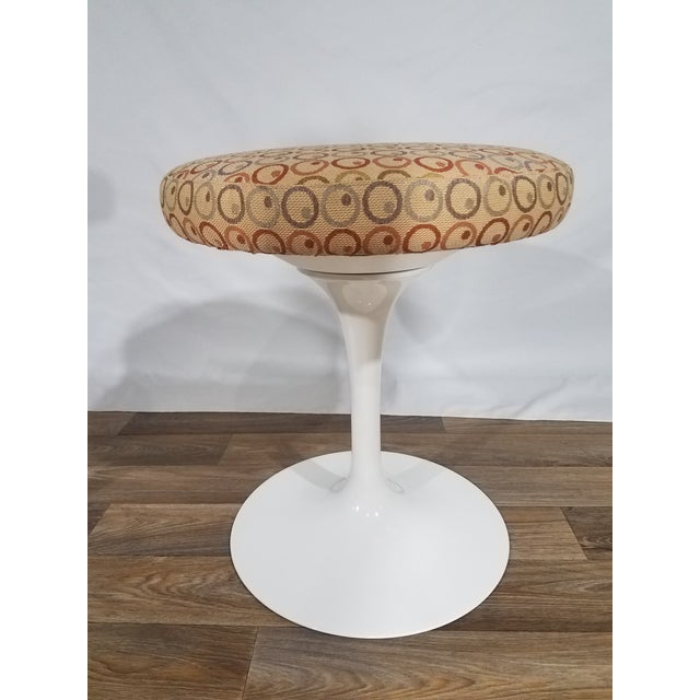 Vintage Mid Century Knoll Tulip Stools For Sale - Image 9 of 9