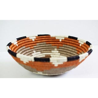 African Sweet Grass and Sisal Woven Basket Preview