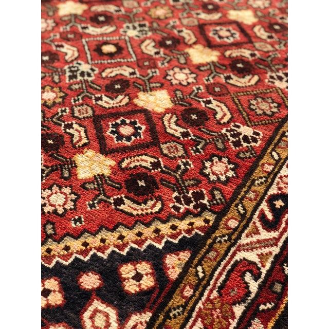 1960s 1960s Vintage Persian Karajeh Runner Rug - 3′7″ × 10′6″ For Sale - Image 5 of 13