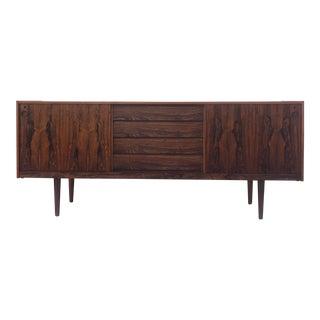 Scandinavian Modern Rosewood Sideboard For Sale