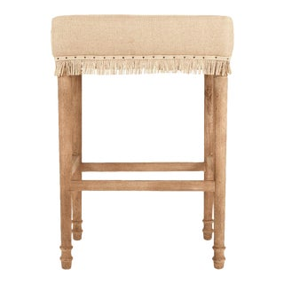 Bowland Bar Stool in Tan For Sale