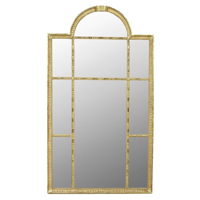 Swedish Neoclassic Giltwood Mirror For Sale
