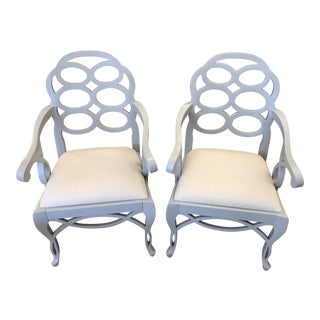 Gray Bungalow 5 Loop Chairs - A Pair