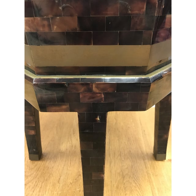 Traditional Maitland Smith Tortoiseshell Box Table For Sale - Image 3 of 10