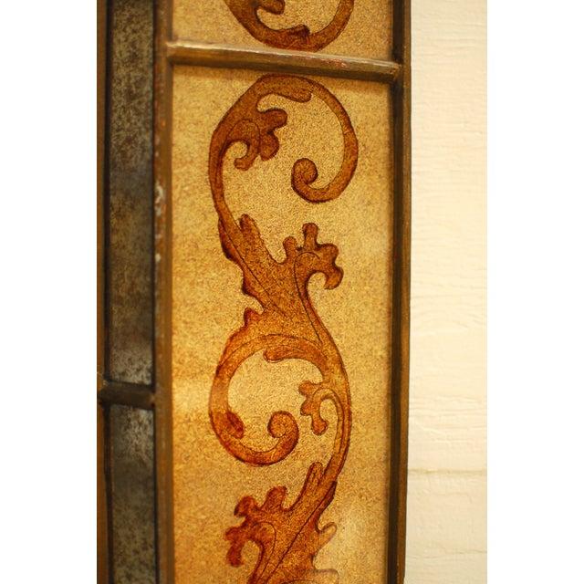Venetian Style Reverse Painted Mirror - Image 3 of 4
