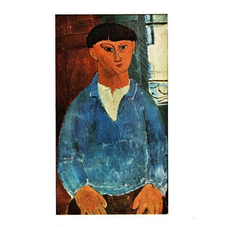 1940s A. Modigliani, Painter Kisling Original Swiss Lithograph For Sale