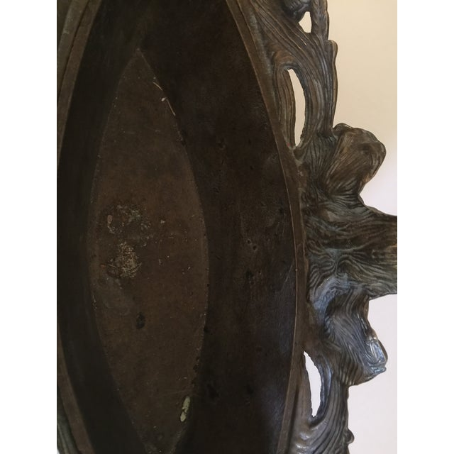 1920s Bronze Art Nouveau Jardiniere For Sale - Image 10 of 11
