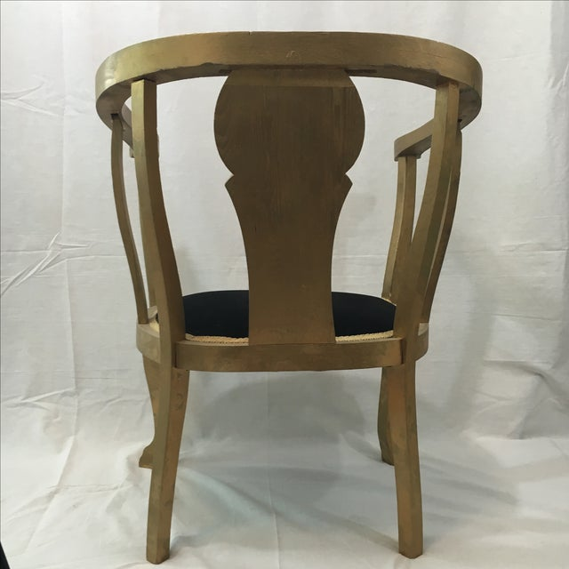 Gold Claw Foot Chair - Image 8 of 9