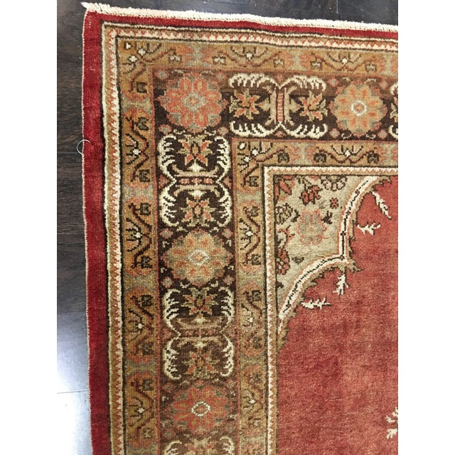 "Vintage Sivas Turkish Rug - 5'4""x14'5"" - Image 6 of 8"