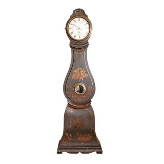 18th Century Swedish Long Case Clock For Sale
