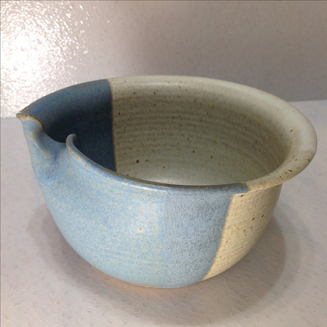 Vintage Handmade Pinched Bowl - Image 3 of 7