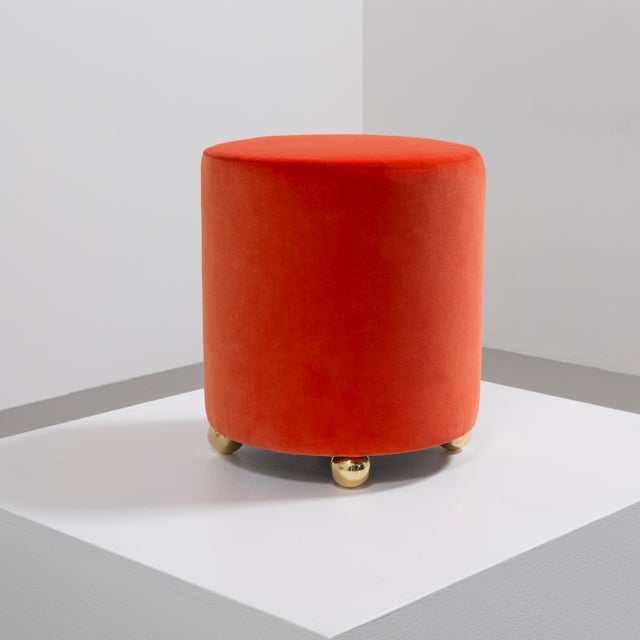 Contemporary The Maud Stool by Talisman Bespoke For Sale - Image 3 of 7