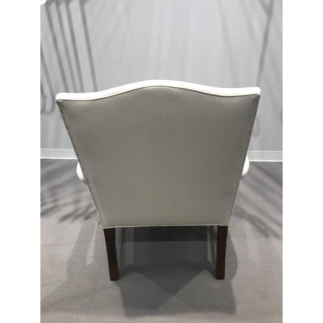 Wood Kravet Mark Hampton Side Chair For Sale - Image 7 of 12