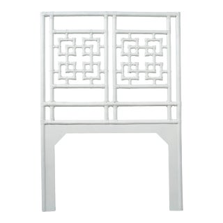Palm Springs Headboard Twin - White For Sale