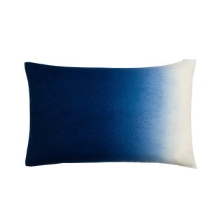 100% Baby Alpaca Dip Dyed Pillow Rectangle For Sale