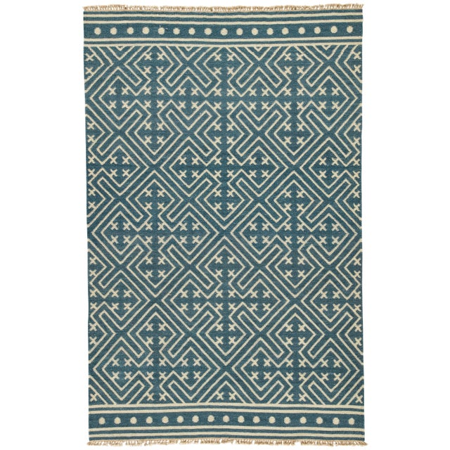 Jaipur Living Lahu Handmade Geometric Area Rug - 10′ × 14′ For Sale In Atlanta - Image 6 of 6