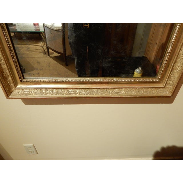 19th Century Empire Mirror For Sale - Image 4 of 7