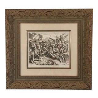 """David Slays Goliath"" Raphael Sanzio Da Urbino Print For Sale"