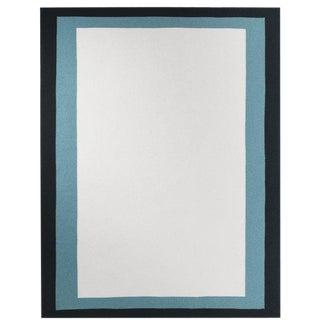 "Blues Cashmere Blanket, Sage, 55"" x 73"" For Sale"
