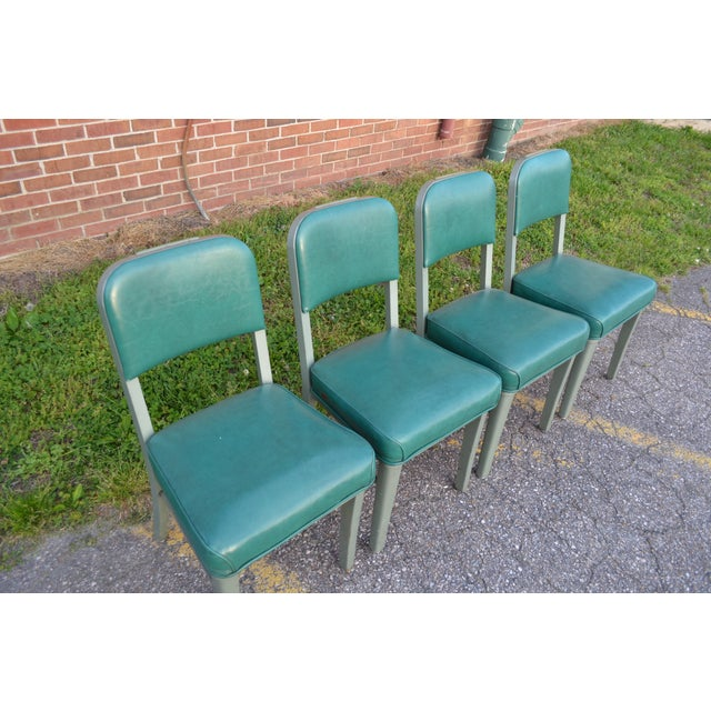 Steelcase Steelcase Mid Century Office Chairs - Set of 4 For Sale - Image 4 of 8