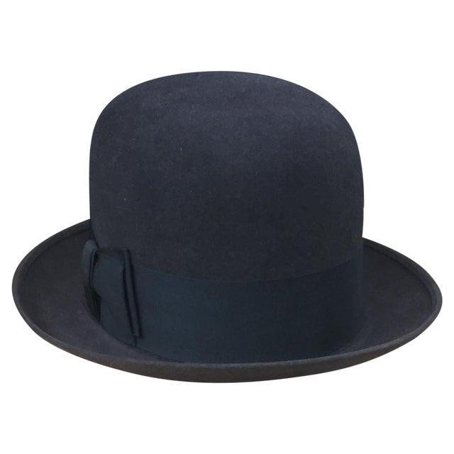 Vintage Mallory Stetson Derby Bowler Hat d5647d0ccf8