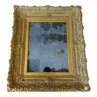 Schwung Home Vintage Gold Mirror
