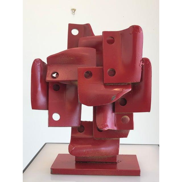 Vintage Brutalis Sculpture by Edgar Negret For Sale - Image 4 of 10