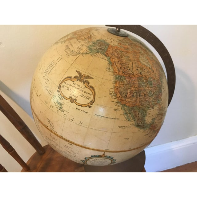 """Vintage 1990 Replogle World Classic Series 12"""" Diameter Globe - This is a snapshot from history, with classics like Union..."""