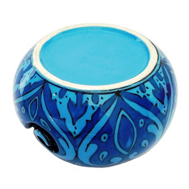 Make knitting adorable with this decorative beautiful Multi Layered Deep Water Blue design Bowl remind us of the beauty of...