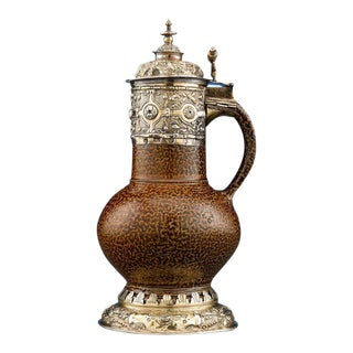 16th Century Elizabethan Tigerware Jug
