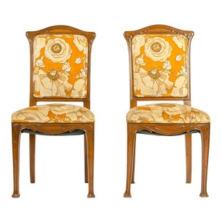 Early 20th Century Louis Majorelle Side Chair - A Pair For Sale