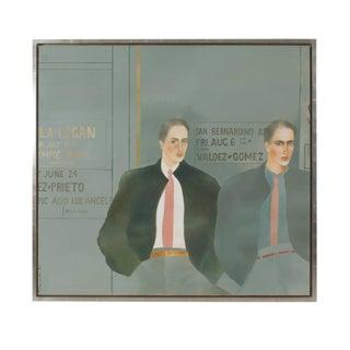 """Bad Boys"" Painting Signed Joanna Zjawinska, 1983 For Sale"