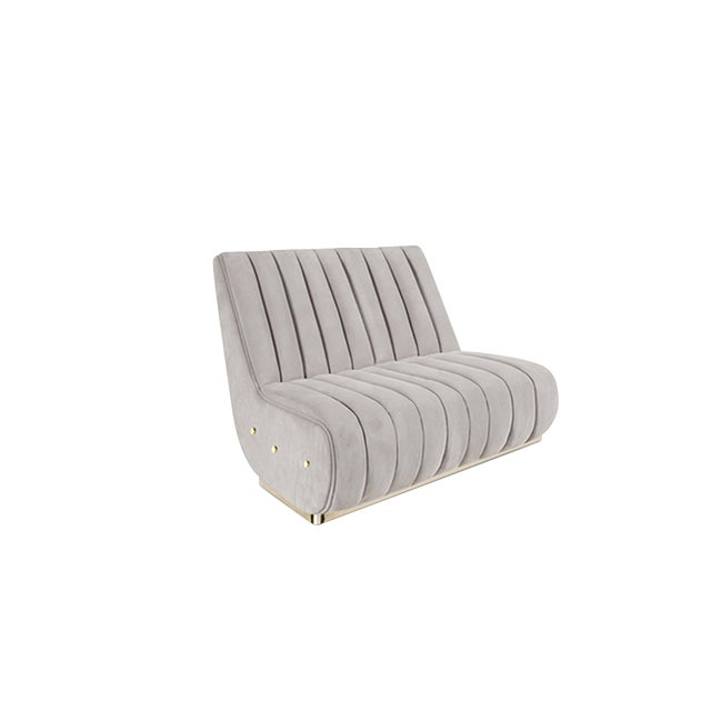 Sophia is a particular bench seat sofa that draws inspiration from the aesthetics of Mid-century Modern Design. It is...
