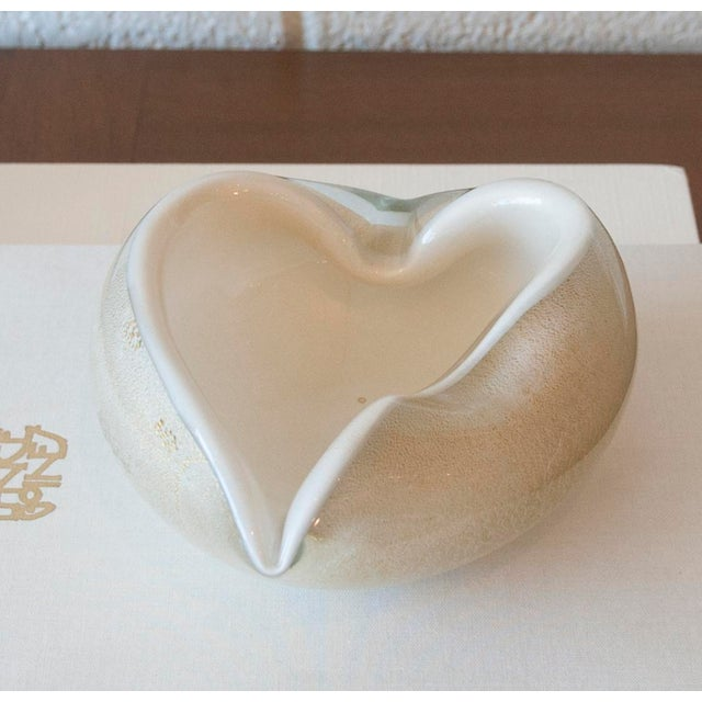 Vintage Murano Glass Heart Bowl - Image 2 of 11