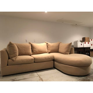 Modern Kreiss Collection Two Piece Sectional Sofa Preview