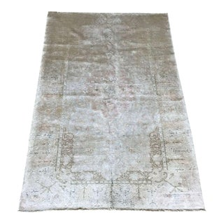 "Bellwether Rugs Antique Kaysari ""Heather"" Silk Rug - 3'11""x5'11"" For Sale"