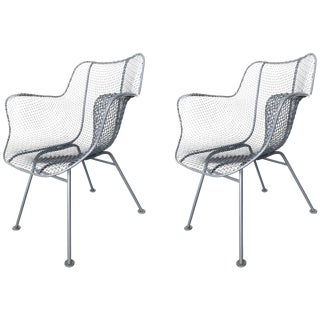 Two Russell Woodard Armchairs Sculptura For Sale