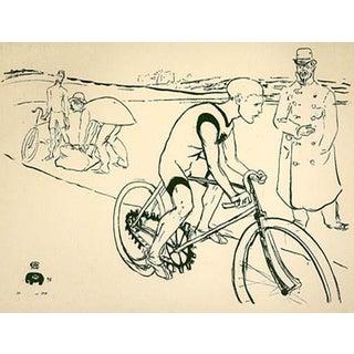 1966 Mourlot Toulouse Lautrec Michael Lithograph 21 For Sale