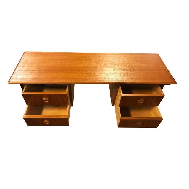 Danish Mid Century Modern Teak Desk Chairish